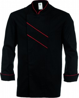 BLACK CHEF'S JACKET 110009