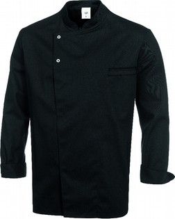 BLACK CHEF'S JACKET 110020