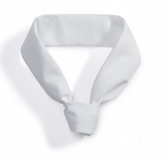 WHITE NECK TIE BP 110115