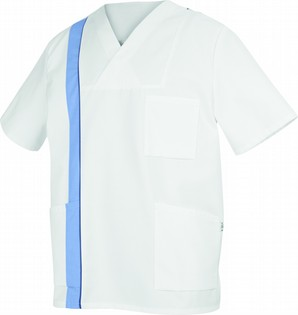 WHITE-BLUE UNI 110277